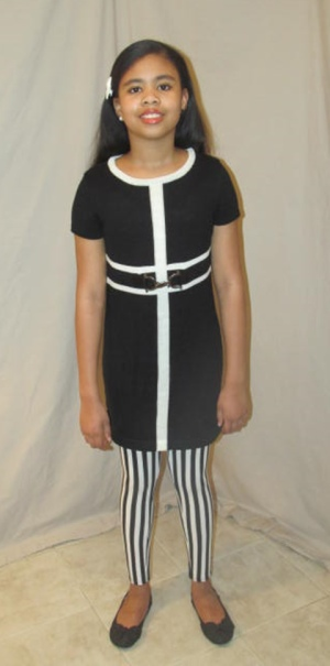 Black with Front Stripe 042014