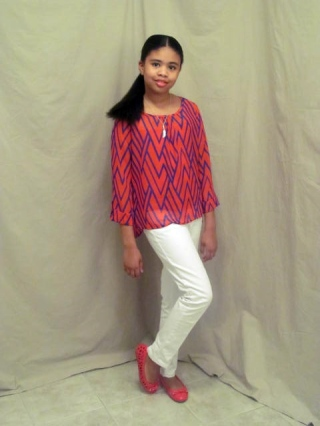 GB Girls Chevron Blouse – Dillard's Department Store
