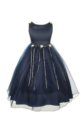 Kid's Navy Dress