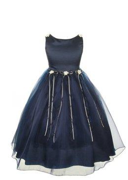 Kid's Navy Dress