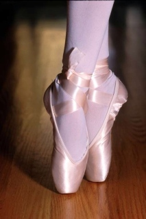 Pink Dance shoes