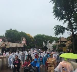 disney rain