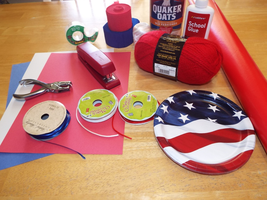 All American Wind Sock Craft Supplies