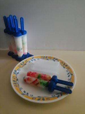 Gummy bear popsicle all