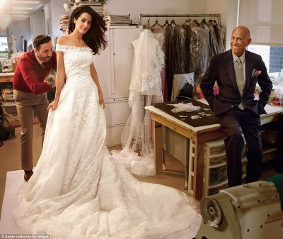 amal-with-oscar-de-la-renta-fitting